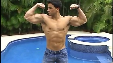 Muscle Stud Flexing (No Nudity)