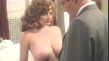 Lisa DeLeuw Vintage Blowjob, Cum on Tits