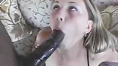 Elephant Cock Rips Tight Pussy