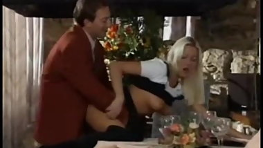 Linda Banged In The Restaurant