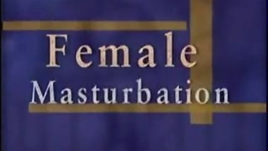 How To - Female Masturbation